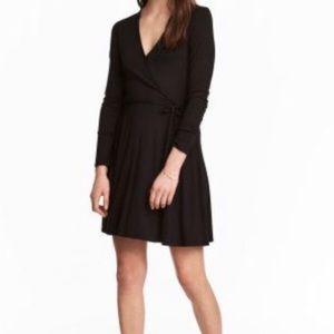 H&M Simple Wrap Dress